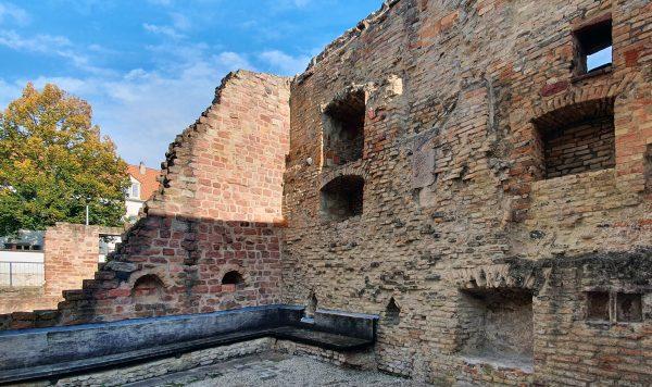 Reste des Judenhof in Speyer
