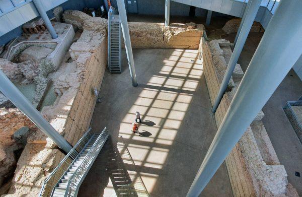 Die UNESCO-Liste freie Thermen am Viehmarkt in Trier