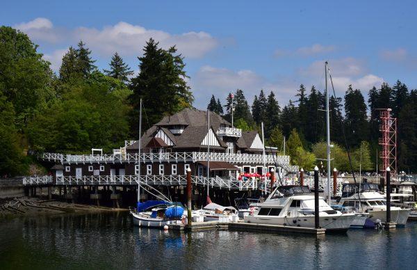 Der Ruderklub im Stanley Park / Vancouver