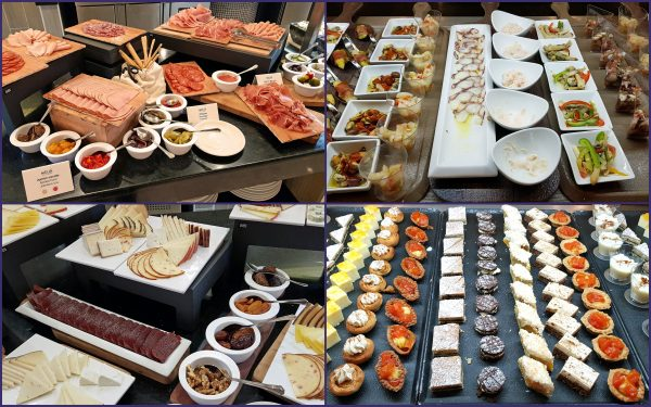 Kalte Speisen im Hotel Internacional Varadero