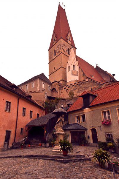 Die Pfarrkirche in Weissenkirchen