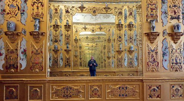 Zinni im Unteres Schloss Belvedere in Wien