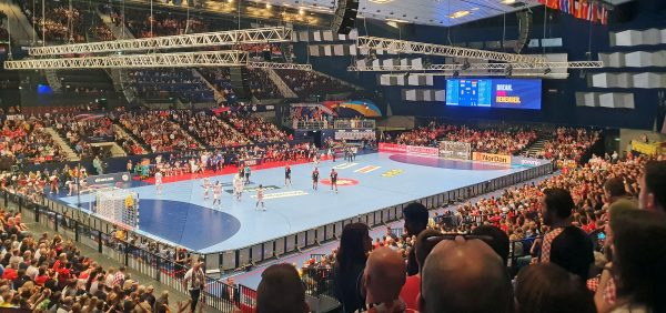 Deutschland - Kroatien bei der Handball EM 2020