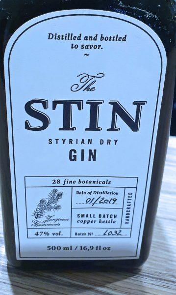 Gin aus Österreich im Novotel am Hauptbahnhof in Wien