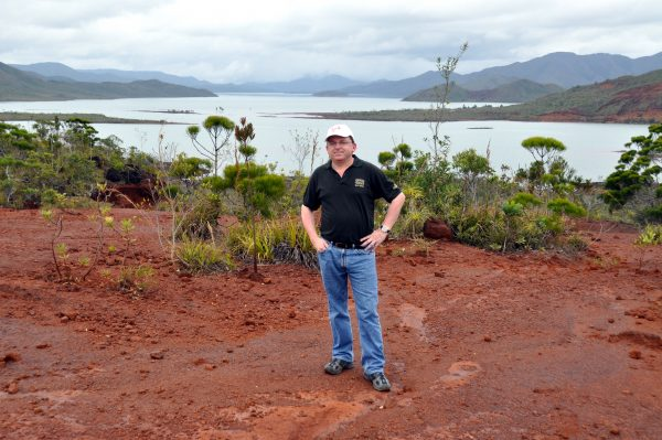 Zinni im Blue River National Park, Neu Kaledonien