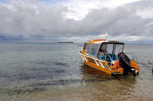 Boottaxi zur Ile aux Canards (Duck Island)