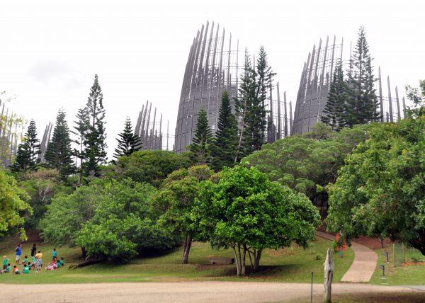 Das Kulturzentrum vom Noumea