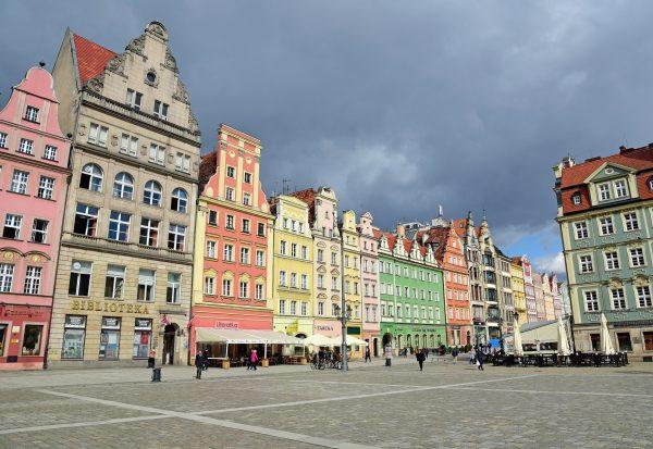 Der Marktplatz von Breslau