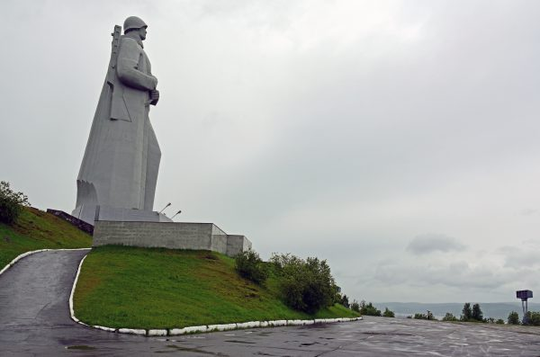 Das Alyosha Monument in Murmansk