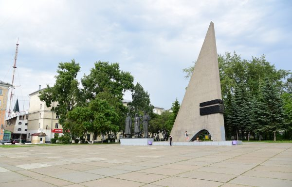 Victory War Monument 1941-1945, Archangel