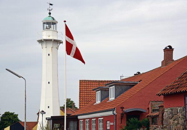 Der Leuchtturm von Rønne, Bornholm