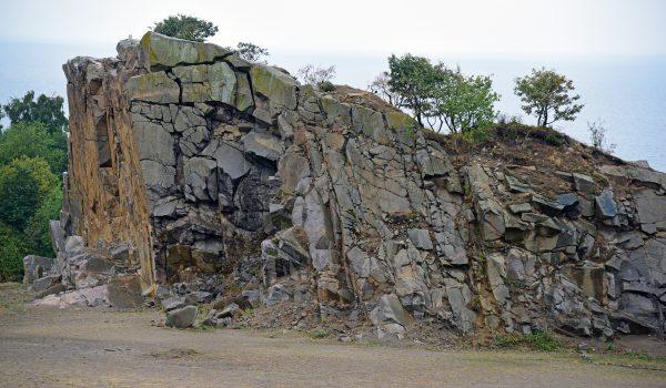 Steinbruch Hammerbruddet auf Bornholm