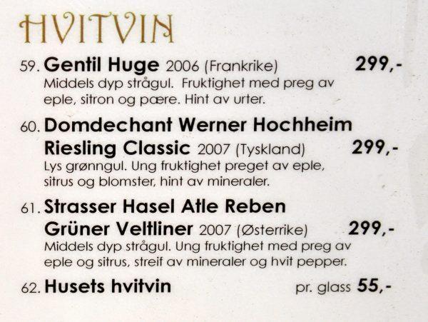 Trinken auf den Lofoten