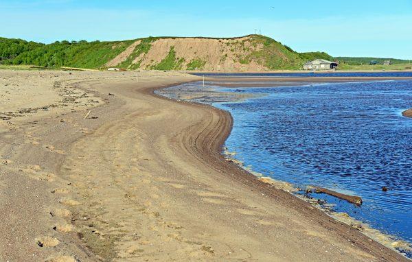 Ein Strand nahe Chapoma