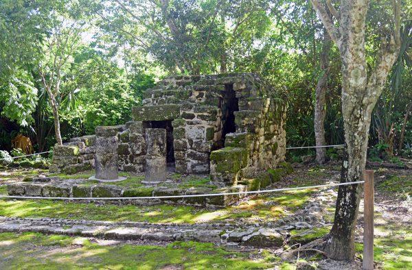 Maya Tempelanlage San Gervasio / Cozumel