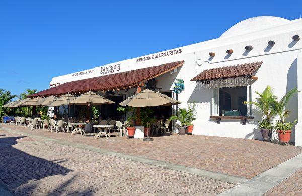 Restaurant im Hafen von Cozumel