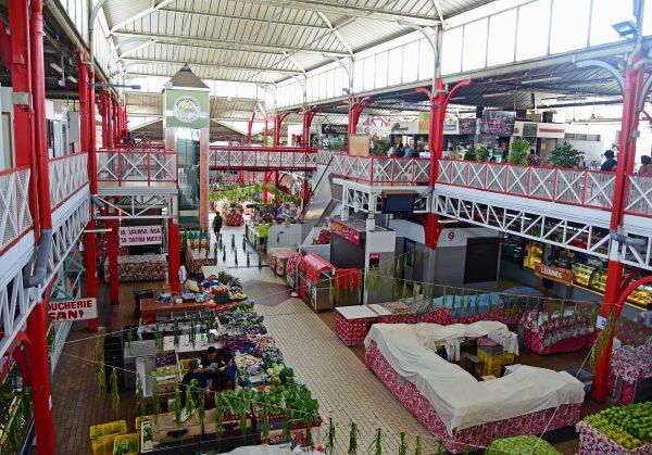 Die Markthalle von Papeete
