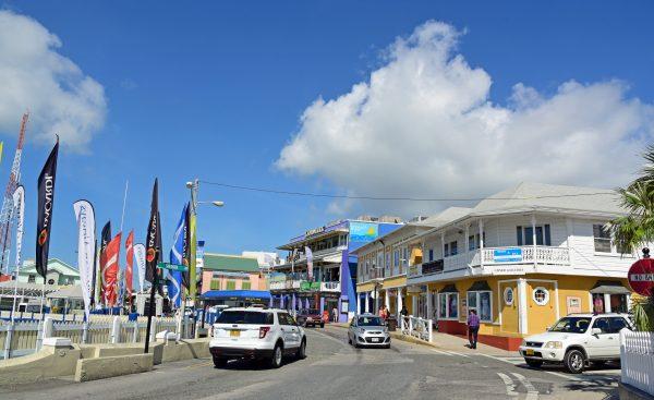 Die Hauptstadt Georgetown auf Grand Cayman