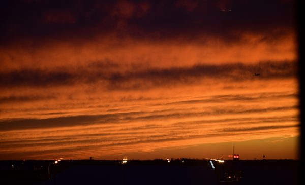 Sonnenuntergang in Philadelphia