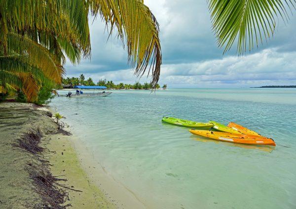 Idylle in Aitutaki / Cook Inseln
