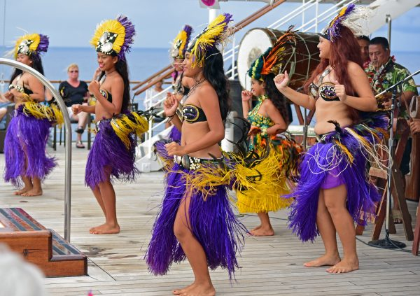 Tänzerinnen aus Rarotonga