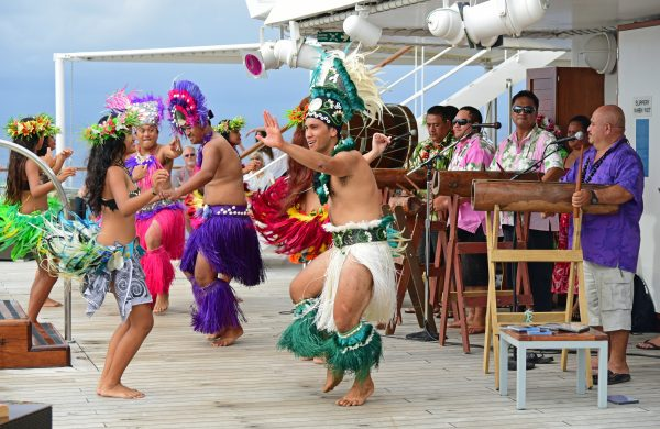 Tänzer aus Rarotonga