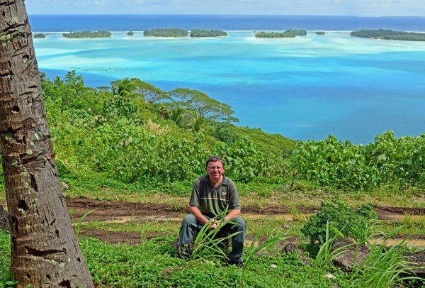 Zinni in Bora Bora