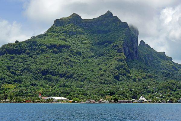Blick auf Bora Bora