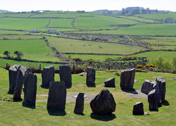 The Ardgroom Stone Circle in Irland