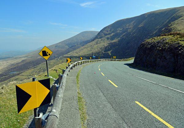 Der Conor Pass auf der Dingle Halbinsel in Irland