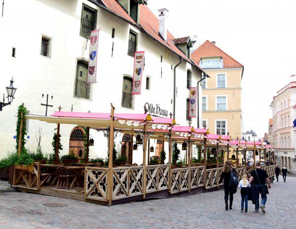 Das Restaurant 'Alte Hansa' in Tallinnn