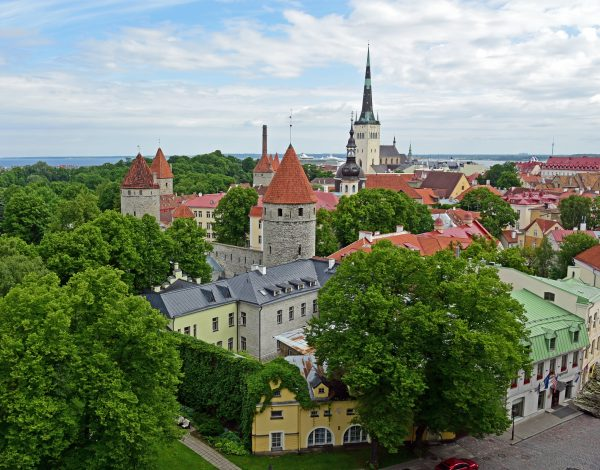Blick auf Tallinn / Estland