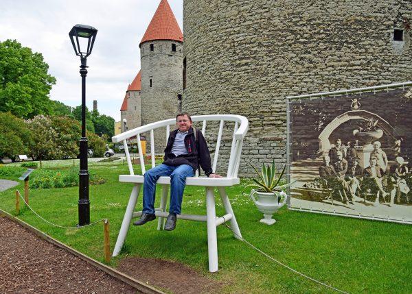 Zinni an der Tallinner Stadtmauer / Estland