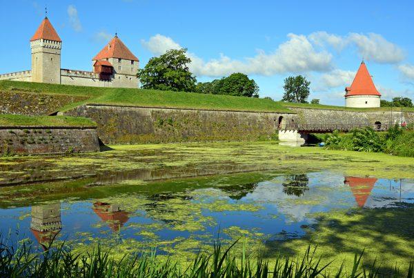 Bischofsburg von Kuressaare / Estland