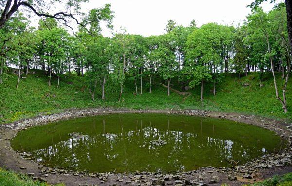 Kaali Meteoritenkraterfeld auf Saaremaa / Estland