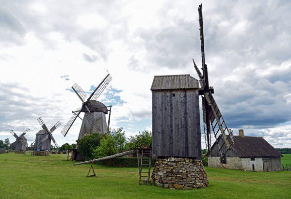 Windmühlenpark Angla / Saaremaa / Estland