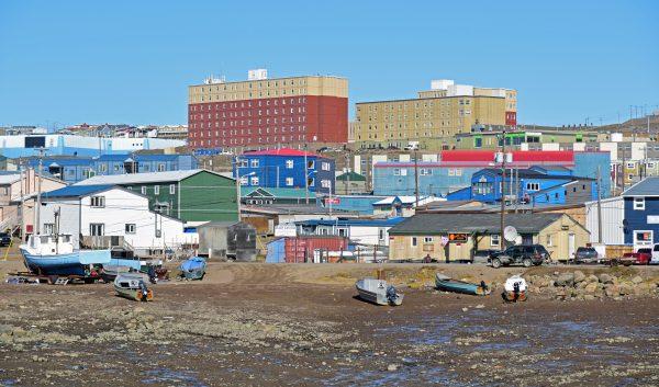 Blick auf Iqaluit