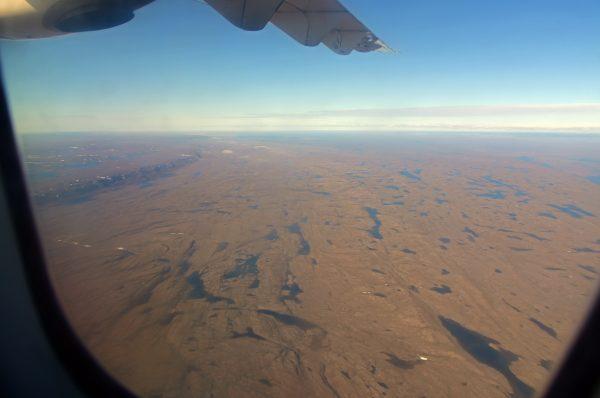 Flug von Iqaluit nach Cape Dorset