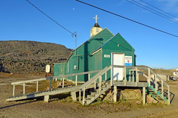 Die Kirche von Cape Dorset