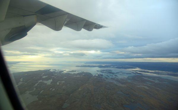 Flug von Cape Dorset nach Iqaluit
