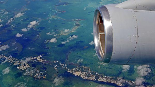 Blick auf die Straße nach Key West