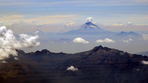 Der Cotopaxi in Ecuador