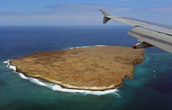 Blick auf eine Galapagos Insel