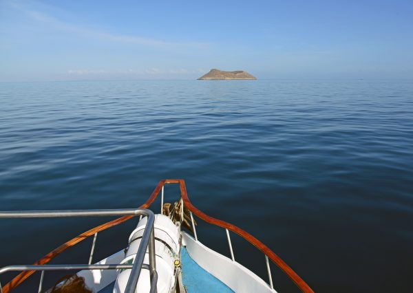 Kurs auf die Insel Daphne Major