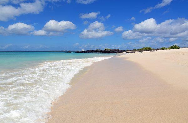 Traumstrand auf den Galapagos Inseln