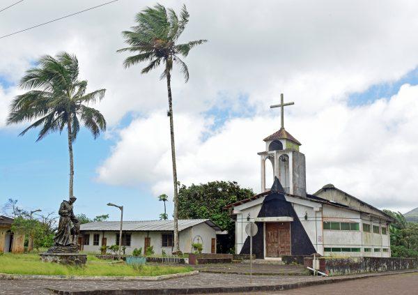 Eine Kirche in San Cristobal