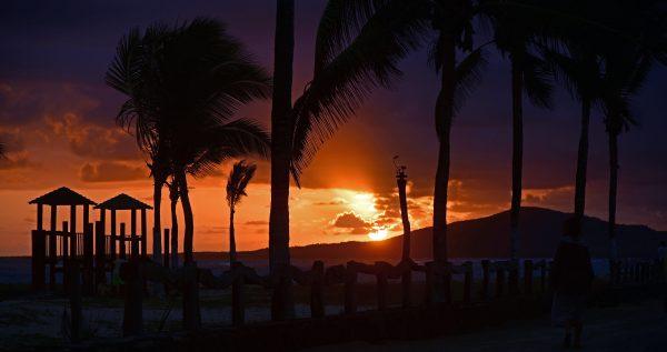 Sonnenuntergang in Isabella