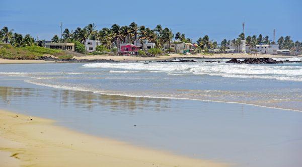 Ein Strand in Isabella