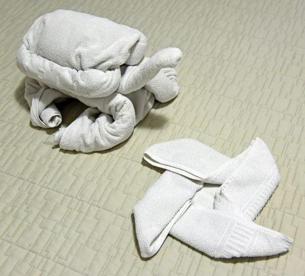 Handtuch Schildkröte