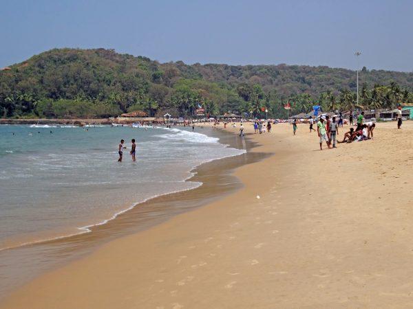 Baga Beach (Goa, Indien)